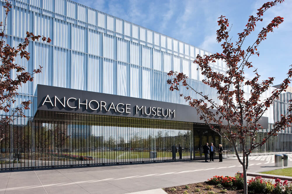 Anchorage Museum Reception