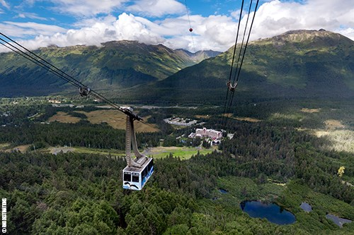 Alyeska Tram and Lunch at the Top